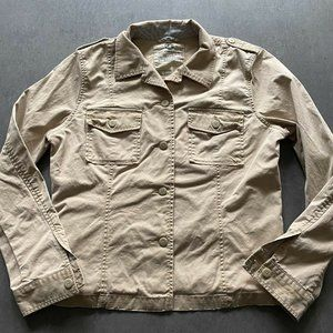 Lucky brand casual button up Jacket Womens Size XL